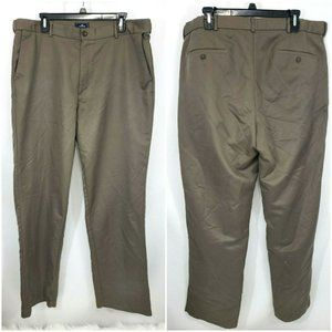 Dockers Mens Classic Fit D3 Taupe Pants 38x34